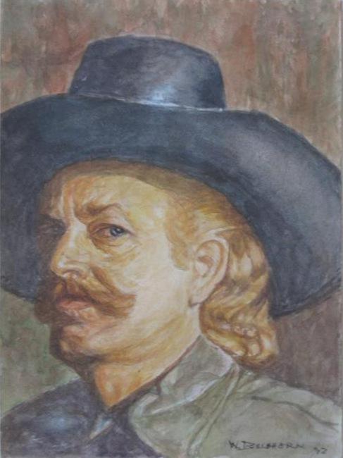 Painting of Walter Buchhorn